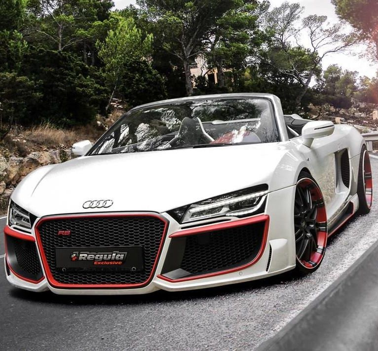 2017 Audi R8 Convertible From The Team Over At Regula Tuning Tell Me This Car Isn T Xy