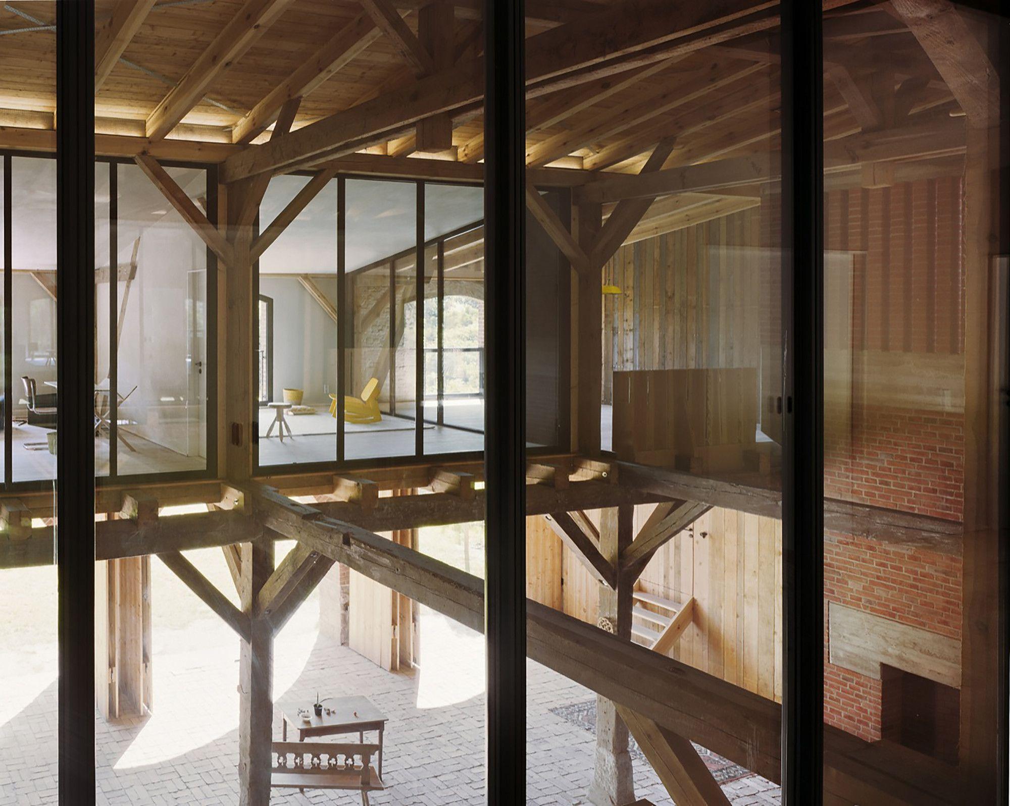 Gallery of landhaus thomas kr ger architekt 10 scheune haus einfamilienhaus und landhaus - Architekt bauernhaus ...