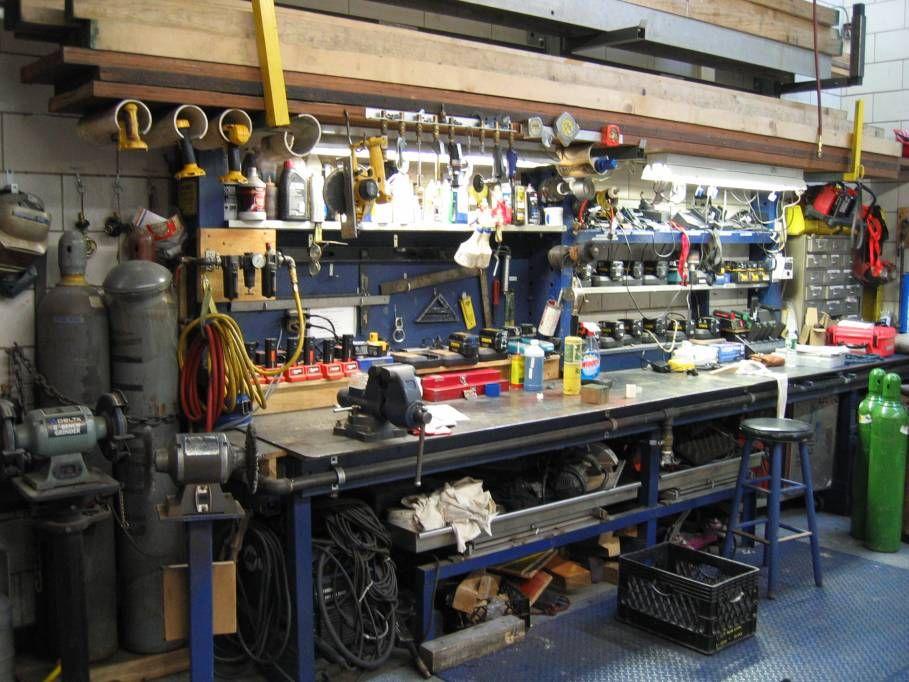 Workbench Ideas - Bing Images | Metalworking Tools in 2019 | Garage