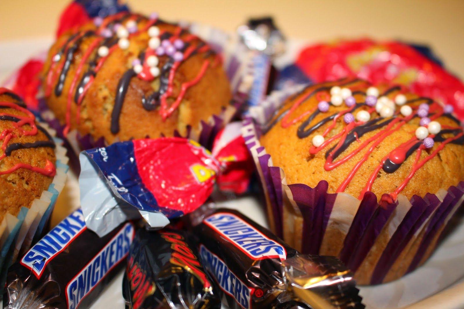 Ranteita myöjen taikinasa: Muffinsit yllätys sydämellä