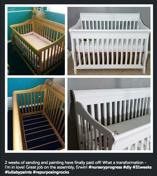 Lullaby Paints Crib Paint Baby Safe, Non Toxic Paint For Kids Furniture