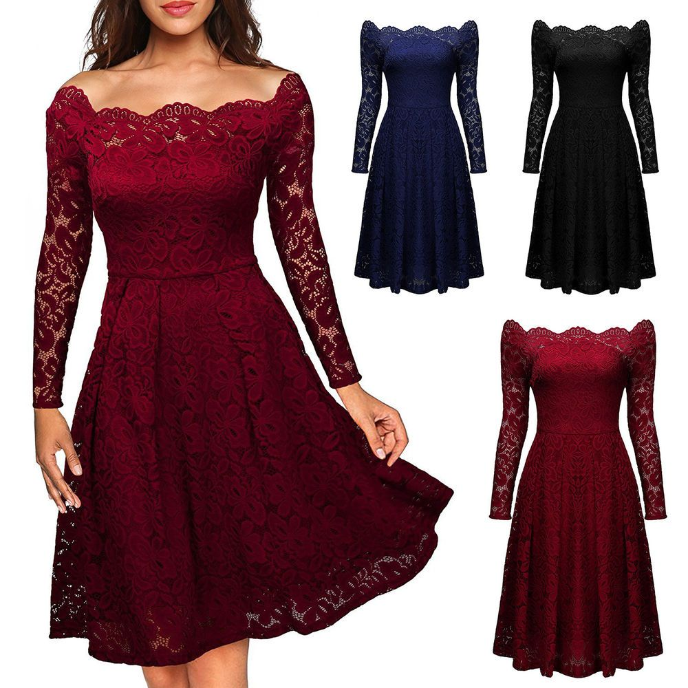 Kleider langarm ebay