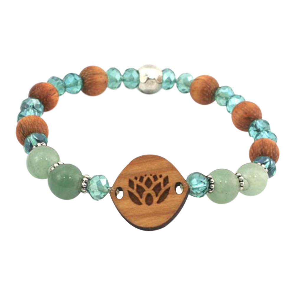 Essential oil bracelet small lotus flower aventurine 1995 essential oil bracelet small lotus flower aventurine 1995 enjoy the health benefits izmirmasajfo