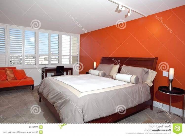 Chambre ŕ Coucher Rose Et Gris En 2020 Chambre A Coucher Orange