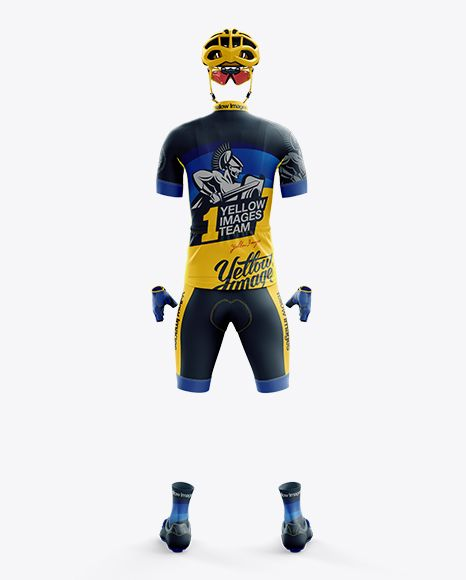 4032+ Cycling Jersey Mock Up Psd Free Easy to Edit