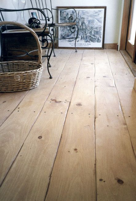 Rustic flooring and distressed wood flooring from carlisle for Wide plank laminate flooring