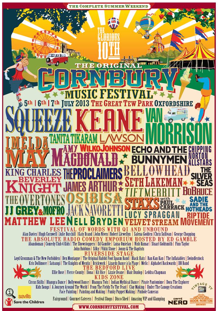 Cornbury 2016 Line Up Imelda Keane