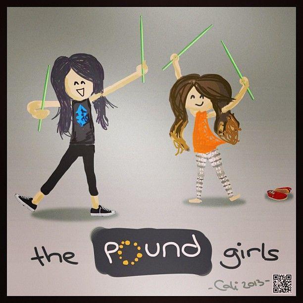 Pound girls. | Fitness - POUND. ROCKOUT. WORKOUT | Pinterest | Workout