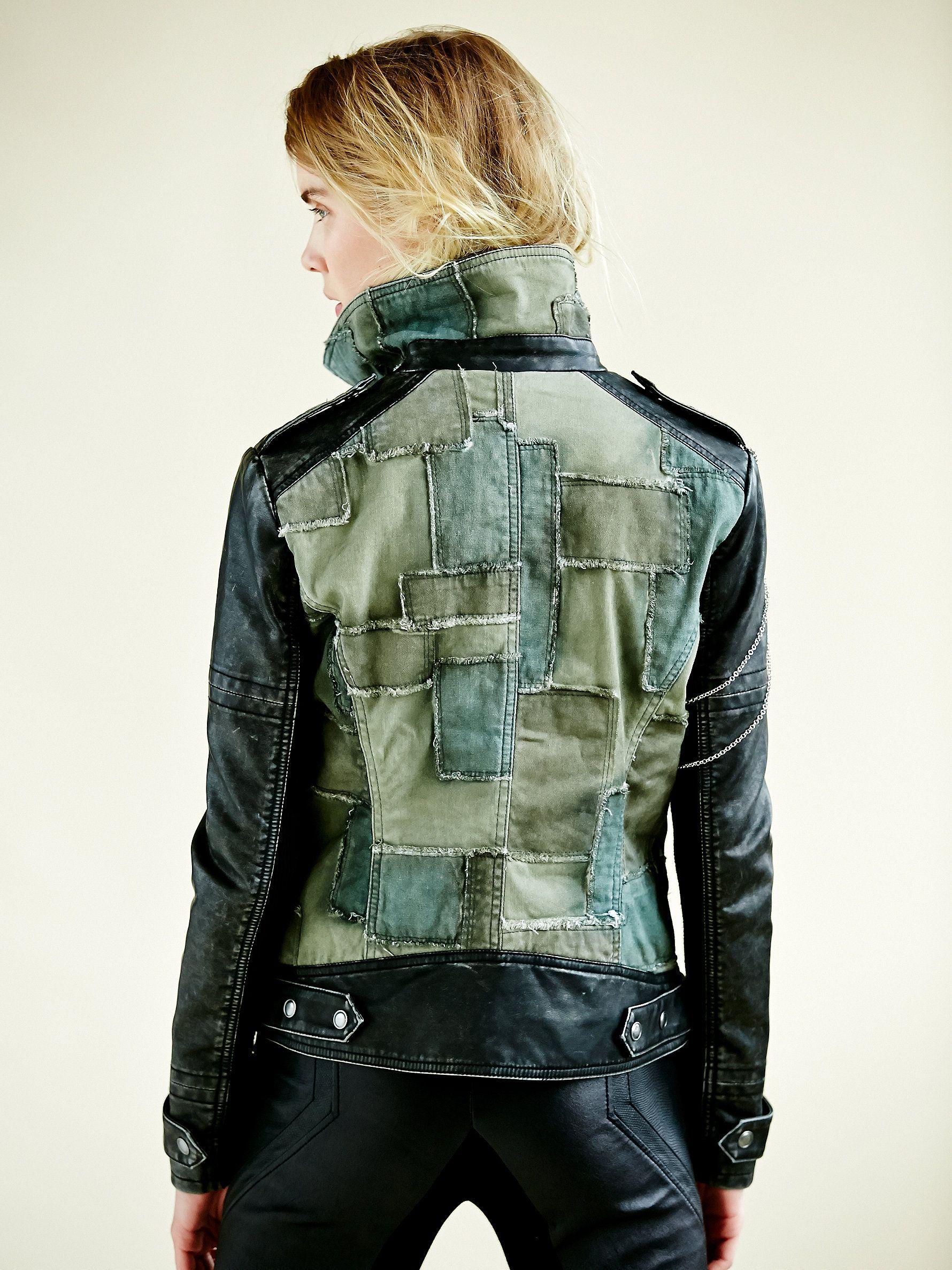 everyone needs a good motorcycle jacket Fashion, Boho