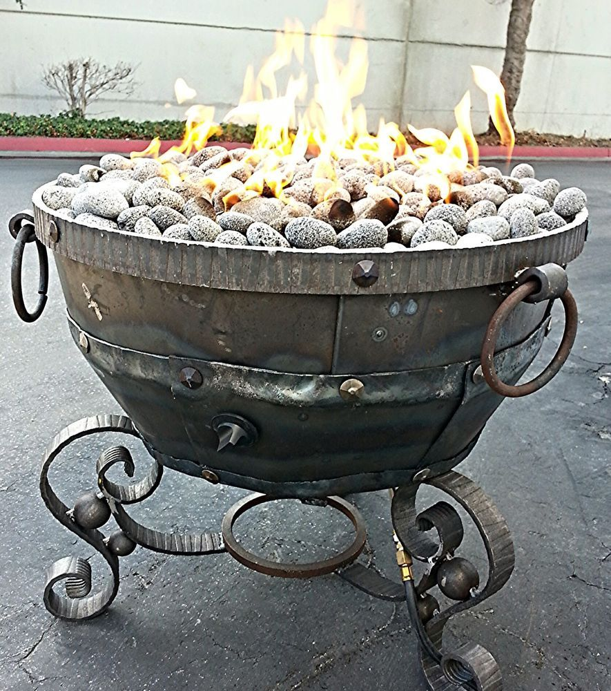 Details About Fire Pit Glass Rocks For Outdoor Propane Gas