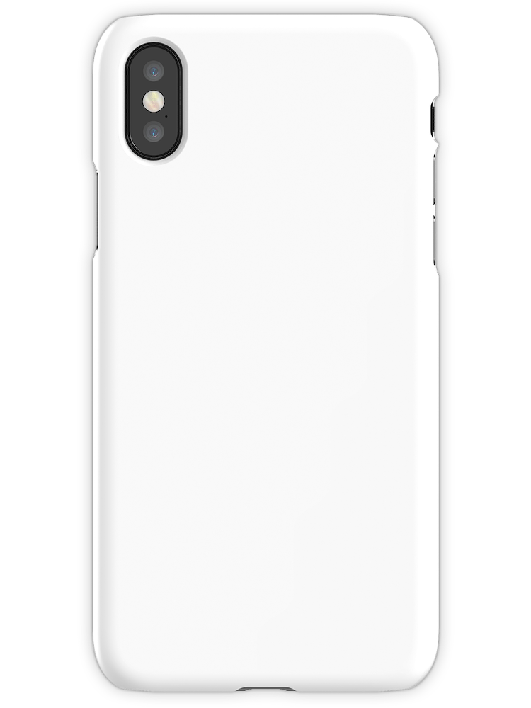 Plain Classic White Iphone X Snap By Astudent White Phone Case Iphone Phone Cases White Iphone Case