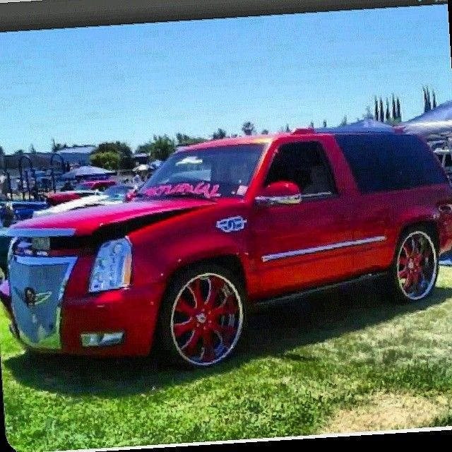 Custom 2 Door Tahoe 96 Completely Converted To An Escalade The Chicago Chevy Pinterest Cadillac Chevrolet And