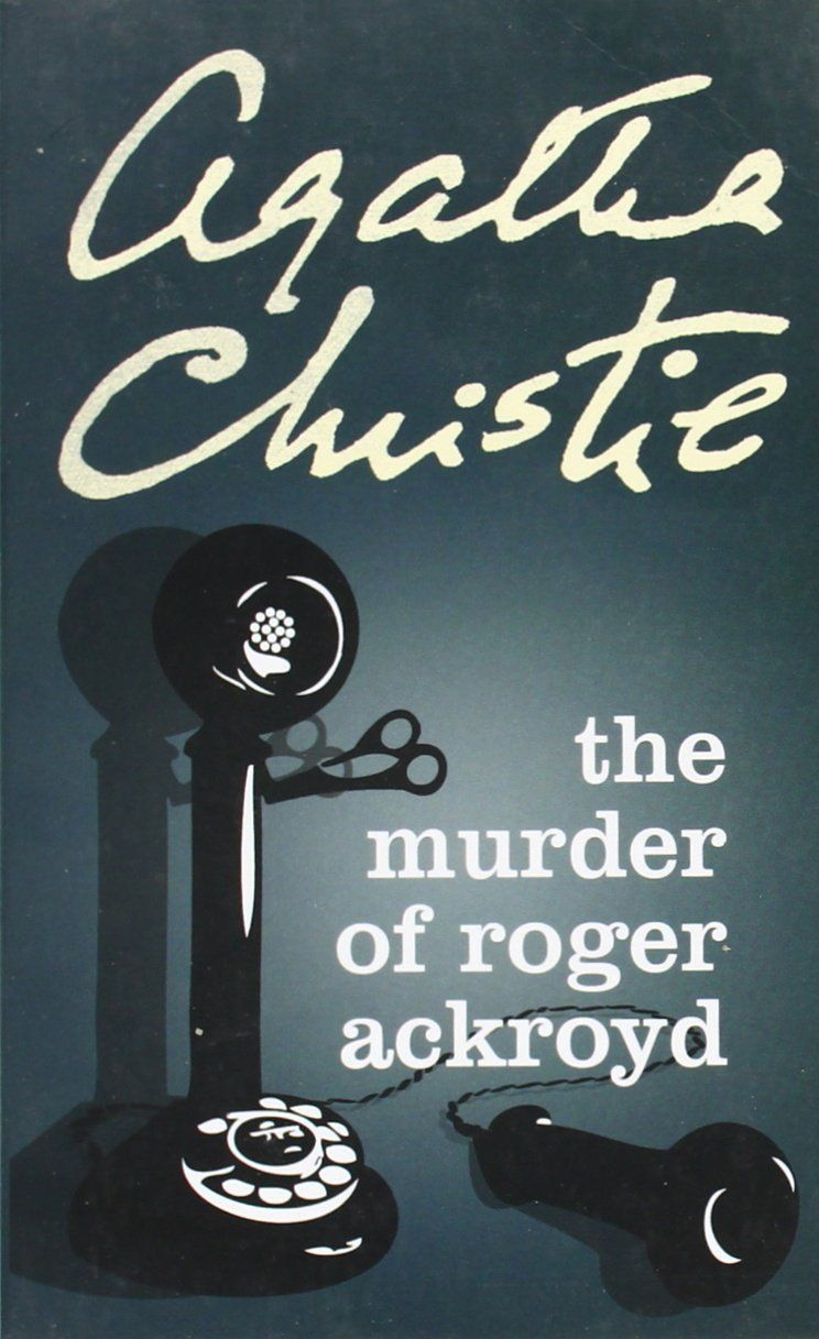 Image result for the murder of roger ackroyd book cover