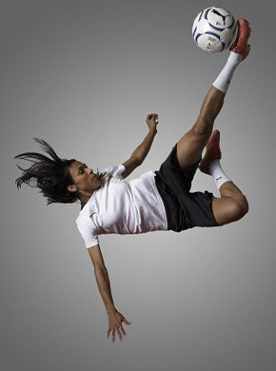Marta Vieira da Silva-Brazillian Soccer Player. This chic has impeccable skills even though she doesn't play for the USA