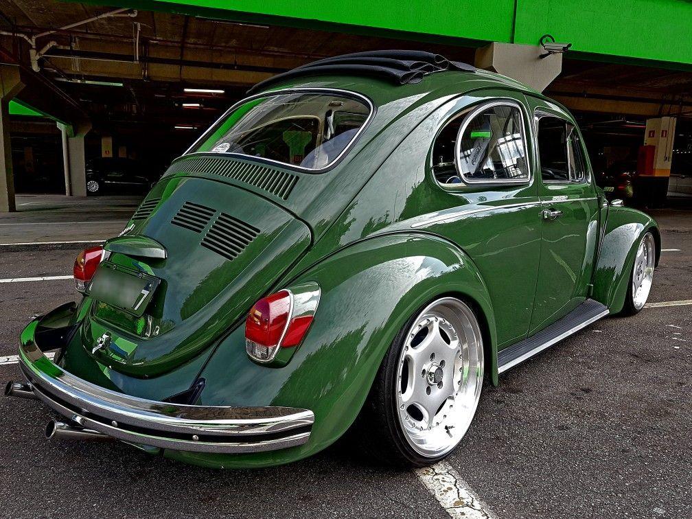 Vw Fusca Verde In 2020 Vw Beetle Classic Vw Beetles Volkswagen