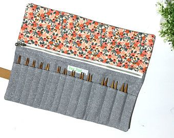 circular knitting needle case tutorial EXAFTOD | Tasker ...