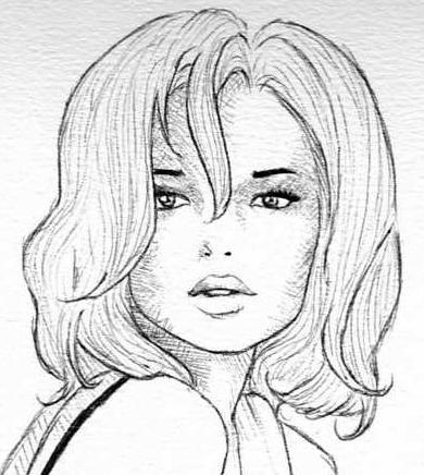 """Connu Résultat de recherche d'images pour """"dessin de visage de femme  LA49"""