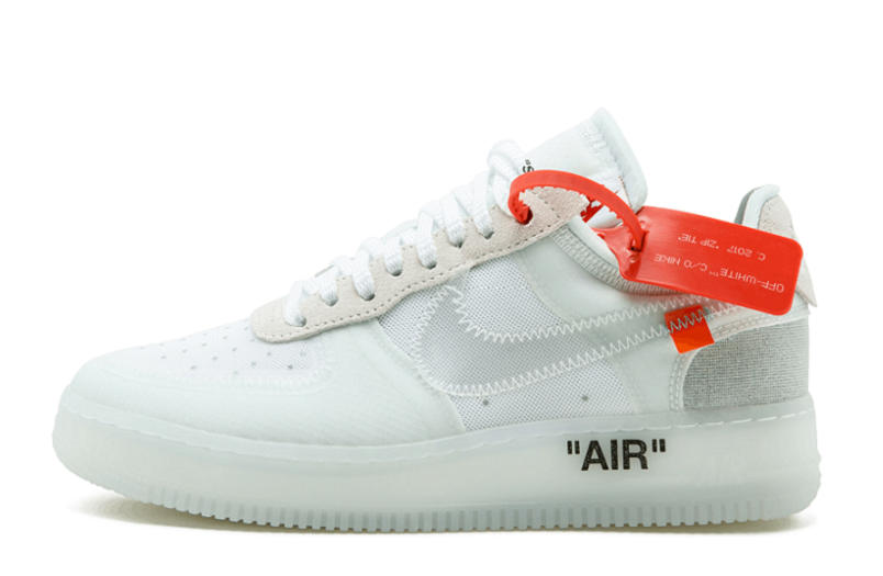 a9fa723bd7f638 Replica Off-White™ x Nike Air Force 1 Low AO4606-100 (1)