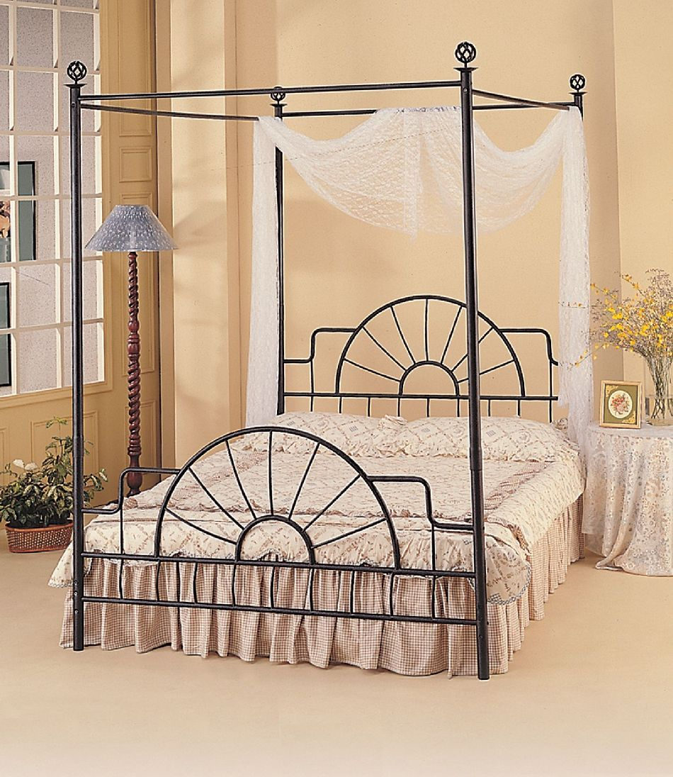 Canopy Bed Frame King Size