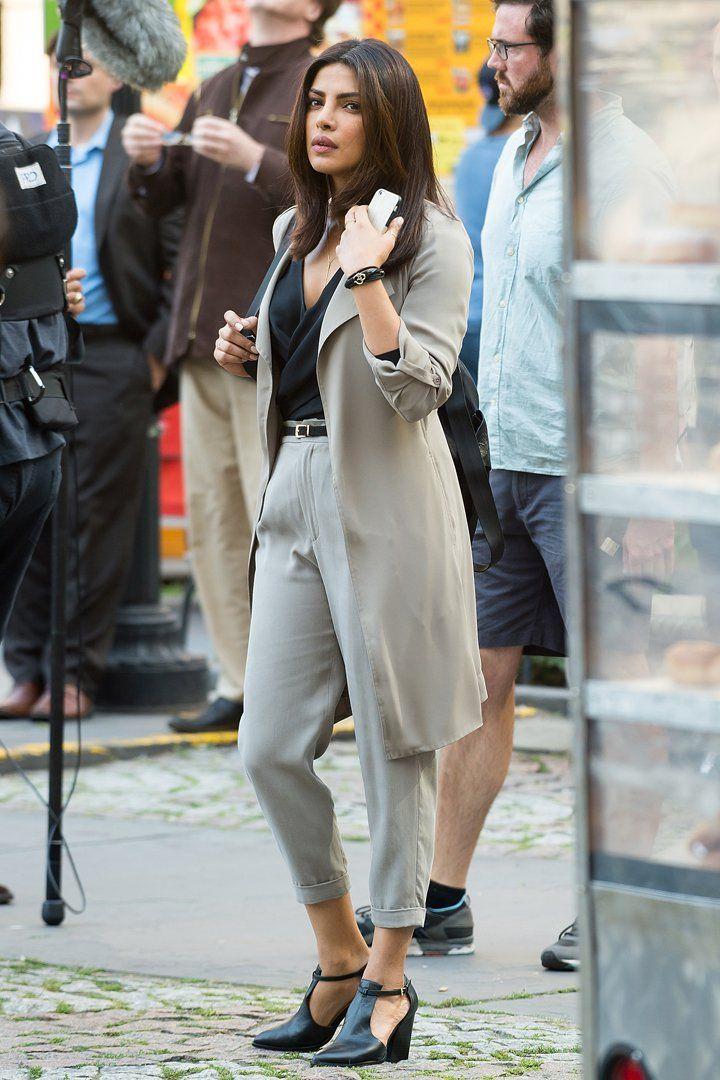 Priyanka Chopra Just Wore the 1 Shoe Every Power Woman Needs in Her Wardrobe