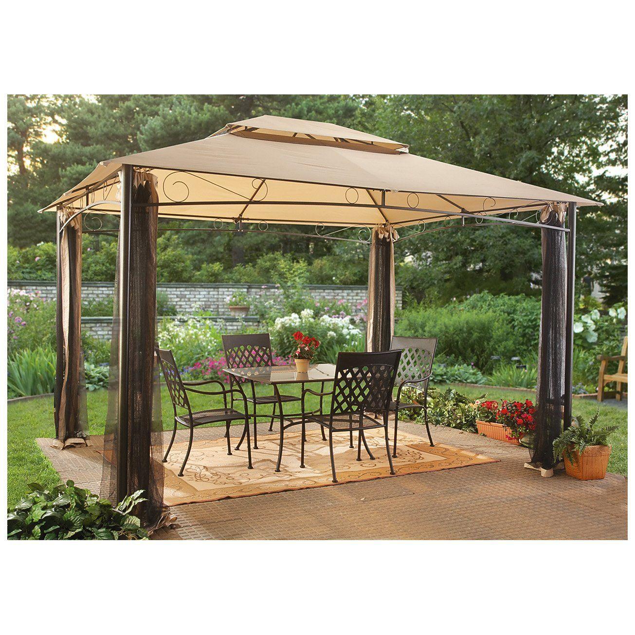 Amazon Com Castlecreek 10x12 Foot Classic Garden Gazebo Patio Lawn Garden Backyard Gazebo Garden Gazebo Canopy Outdoor