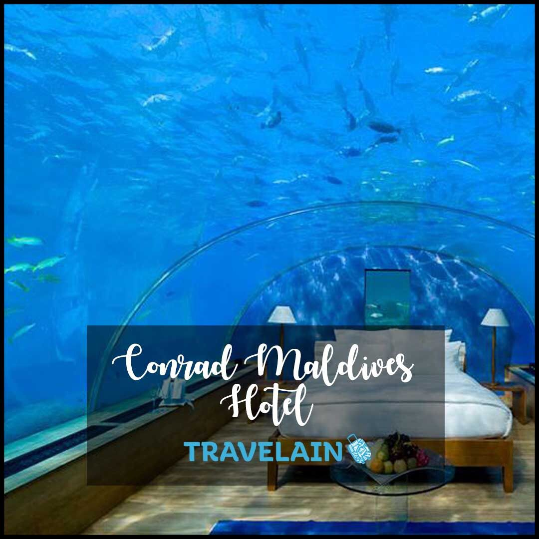 With Its Glass-bottomed Bungalows And Underwater Rooms