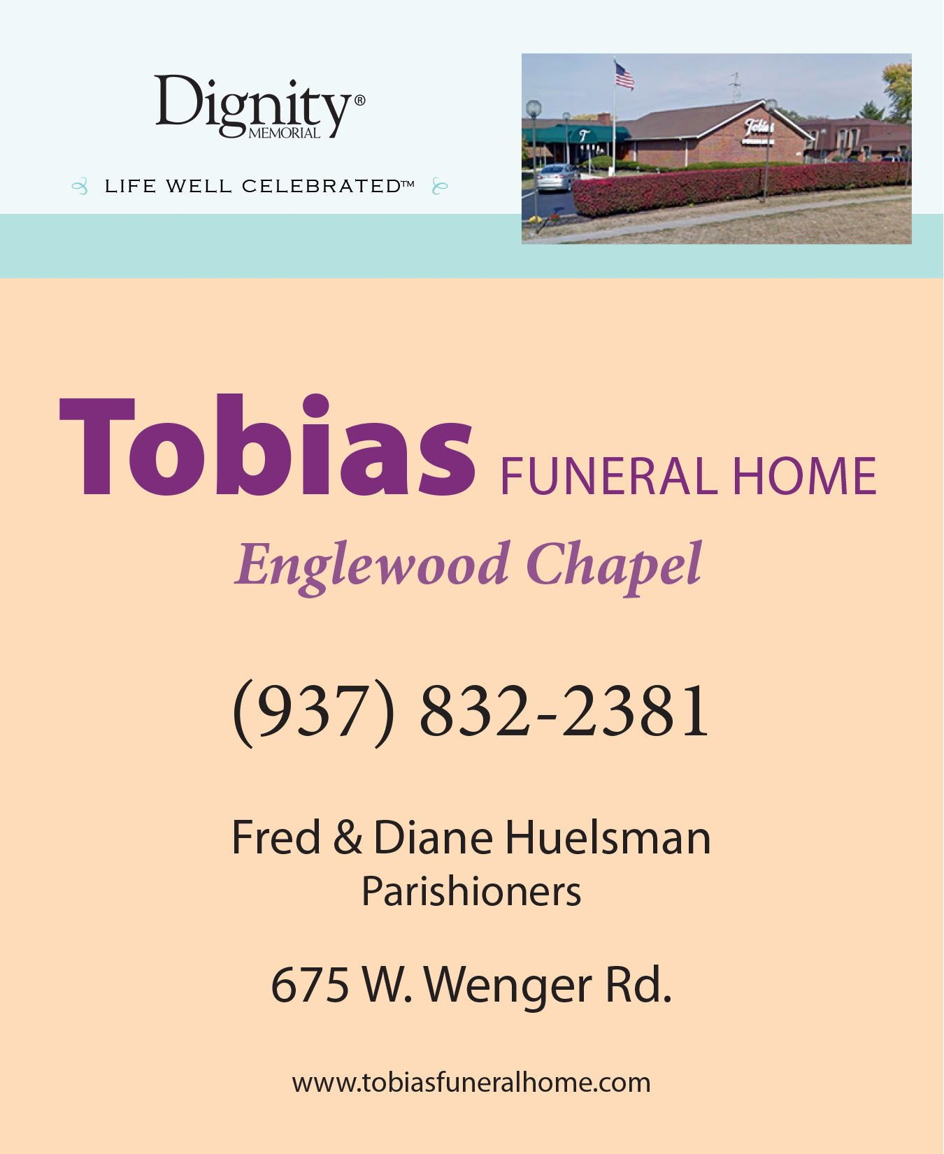 funeral homes in dayton ohio area