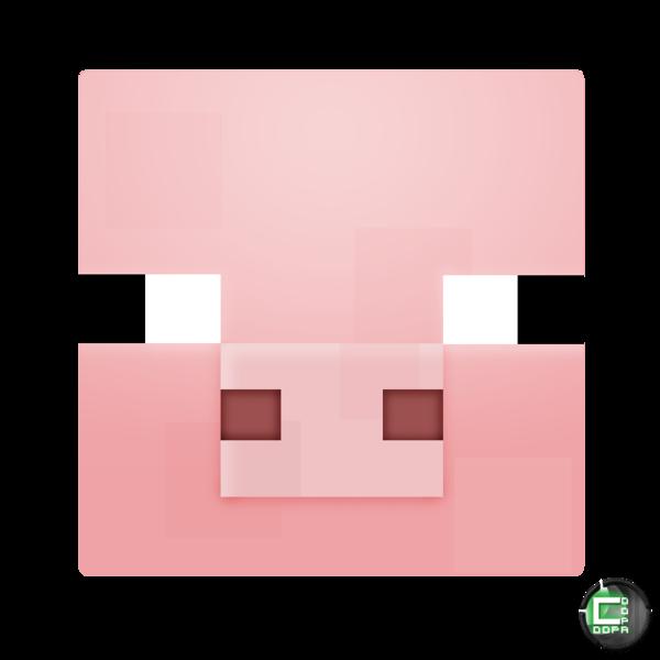 Minecraft Pig Head Minecraft Pig Minecraft Pig Face Minecraft Pig Cake
