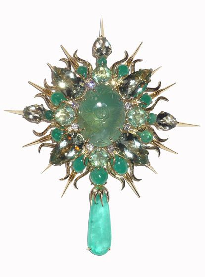 f61946a381d4 Jewel of the day  Tony Duquette brooch