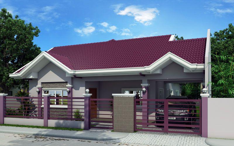 Semi modern house design