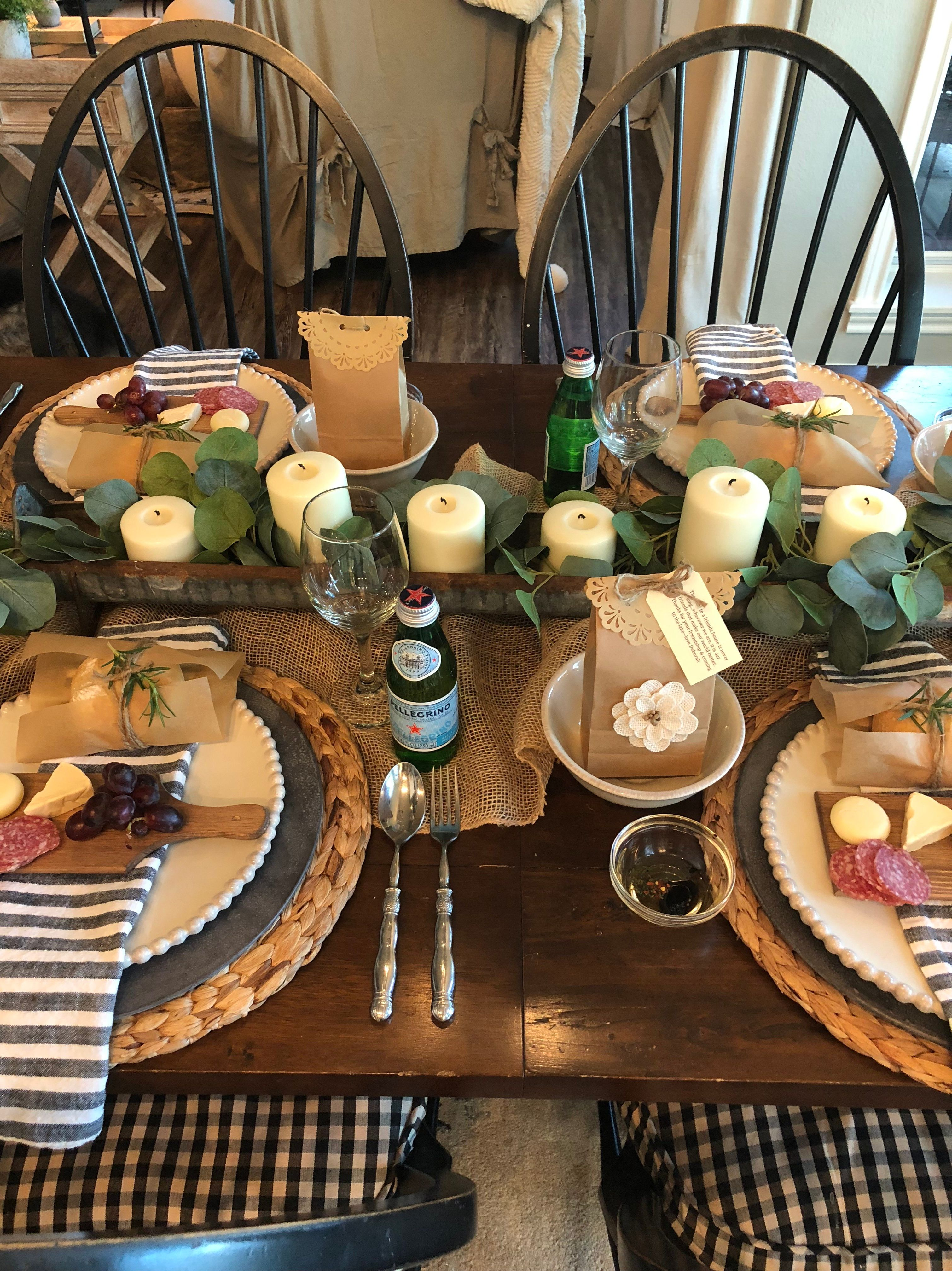 Creating A Beautiful Simple Dinner Party With Images Dinner