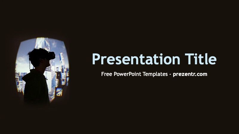 Free Virtual Art Powerpoint Template Prezentr Free Ppt