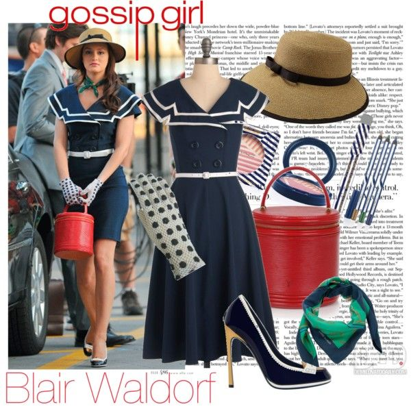 Blair Waldorf   Gossip Girl, Created By Itsalessia On Polyvore