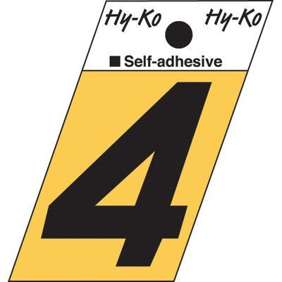 Hy-Ko Angle Cut Number (Set of 10) Number:
