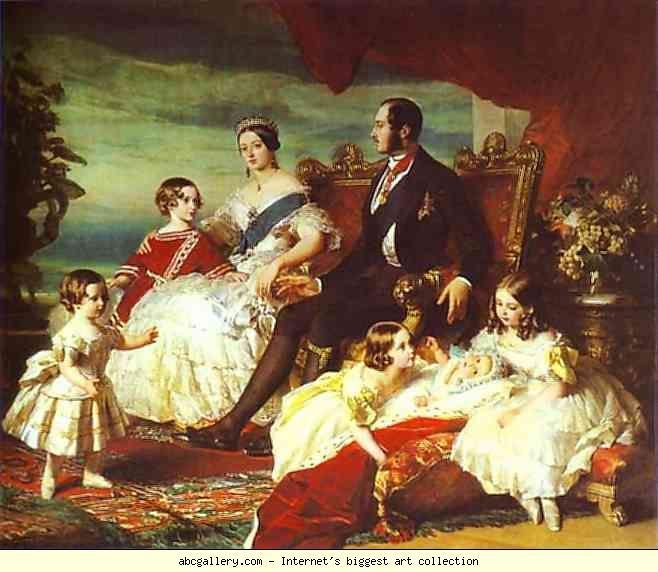 Franz Xaver Winterhalter. The Family of Queen Victoria.