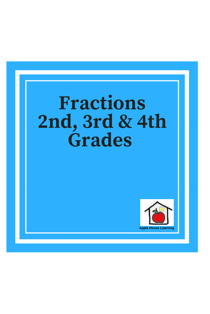 Pin by Apple House Learning on Math - Fractions 2nd-4th Grade ...