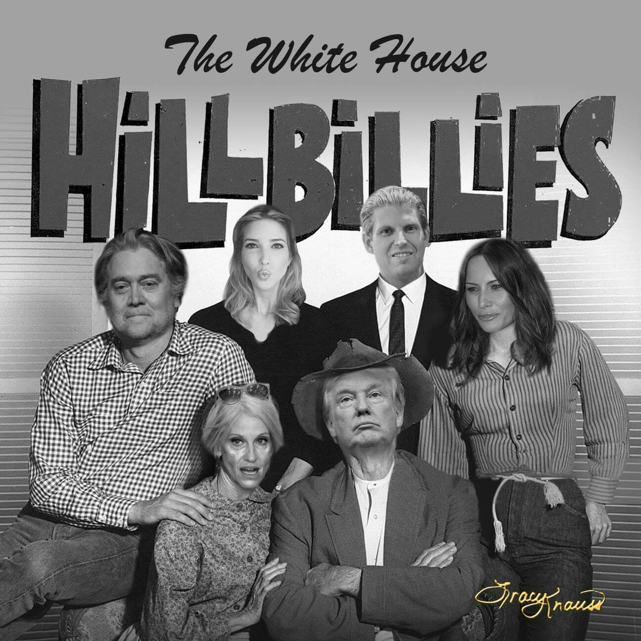Image result for Trump family hillbillies