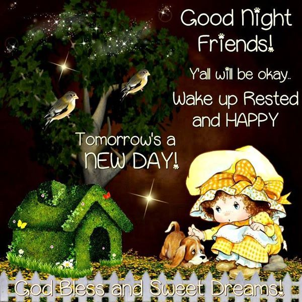 Good Morning Everyone God Bless You All : Good night everyone god bless you love bunches