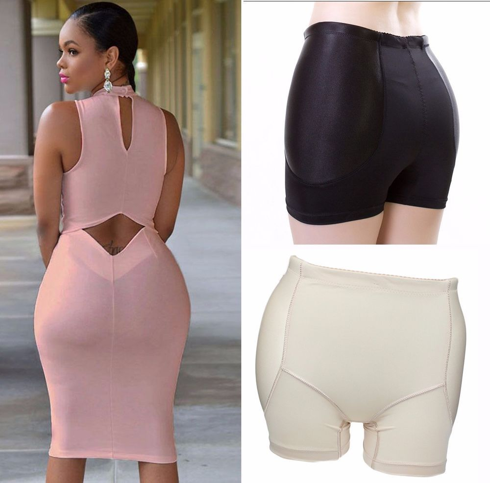 new ladies womens butt lifter shaper bum lift pants buttocks