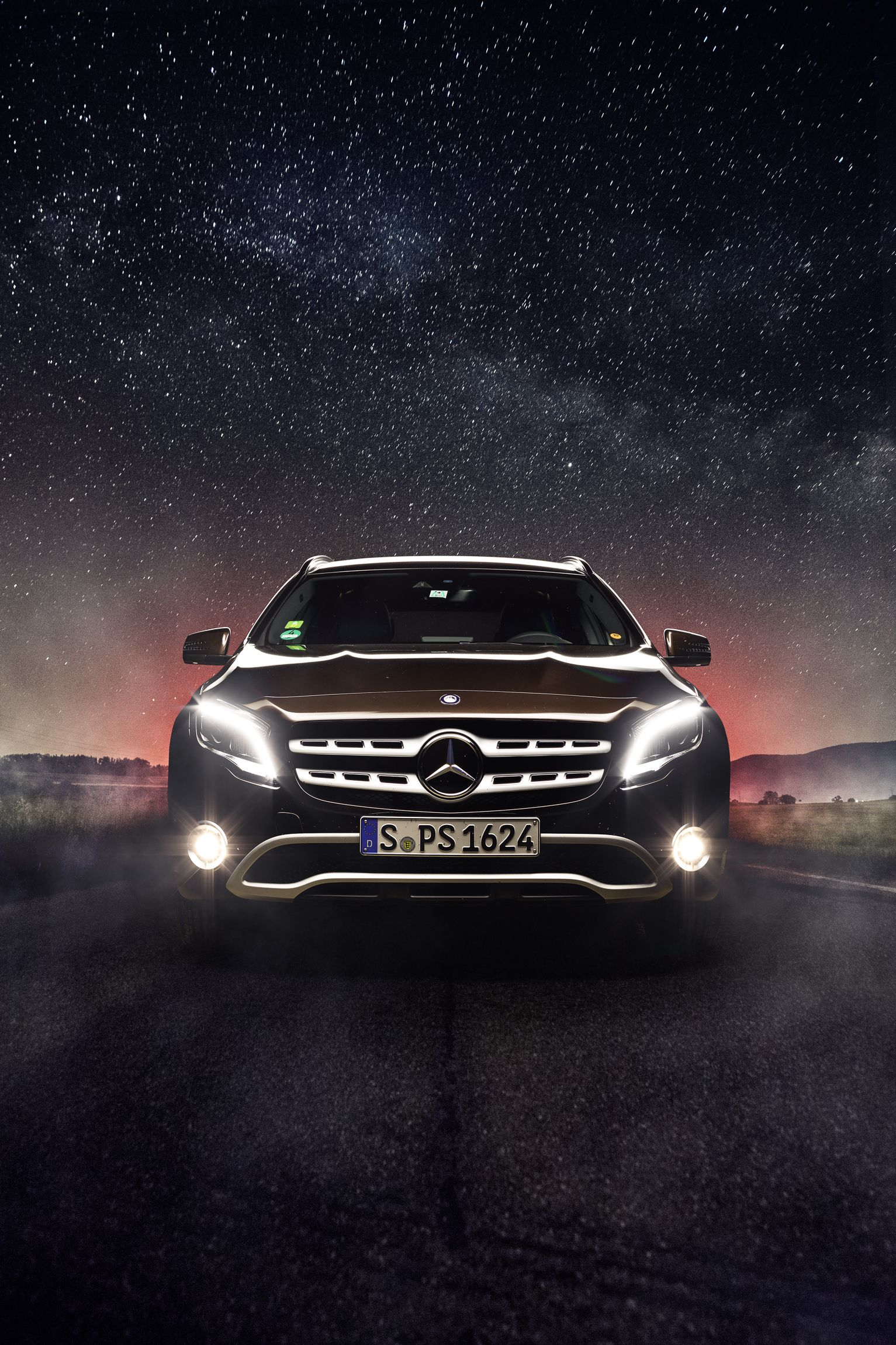The New Gla Fitness Programme For The Compact Suv Benz