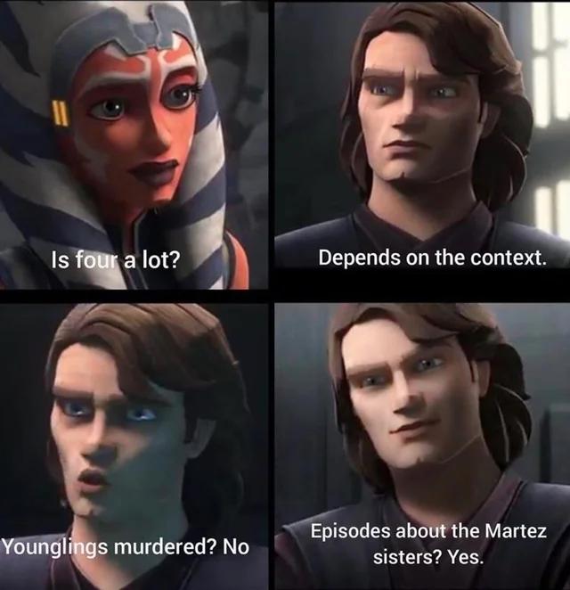 Star Wars The Clone Wars Based Memery Star Wars Humor Star Wars Funny Star Wars Memes