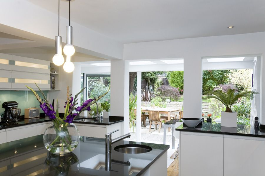 kitchen extensions: uk kitchen extension design service from