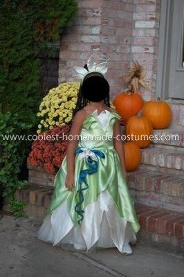 Coolest Homemade Princess Tiana Costume Tiana Costume Princess Tiana Costume Disney Princess Costumes