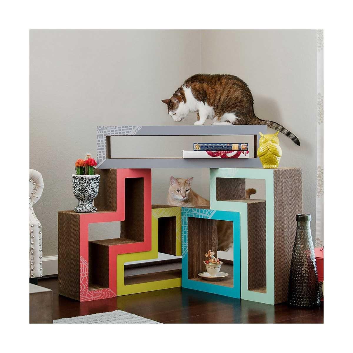 Modular Cat Tree City San Francisco Catsplay Superstore Modern Cat Furniture Modern Cat Tree Cat Tower Furniture