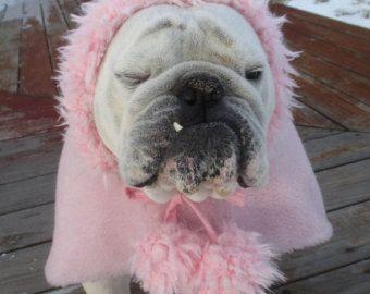 Order English Bulldog Faux Mink White Fur Coat Bulldog Custom