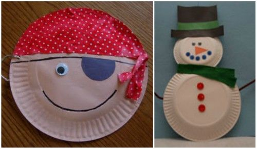 35 Amazing Paper Plate Crafts for Kids! Its amazing what you can craft with paper plates! Here are 35 incredible paper plate crafts complete with pictured ... & Craft for a Pirate theme party. Paper Plate Crafts | fetes erses ...