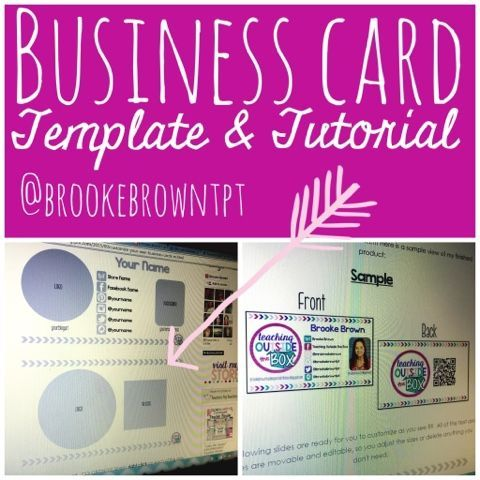 customize your own business cards in powerpoint! {free template, Powerpoint templates