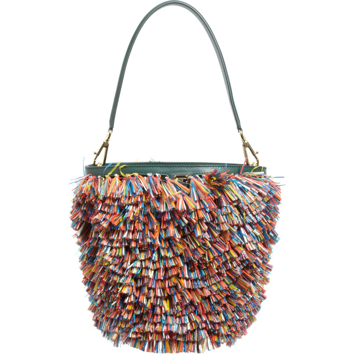 Dolce & Gabbana Small Fringed Miss Ingrid Bag at Barneys.com