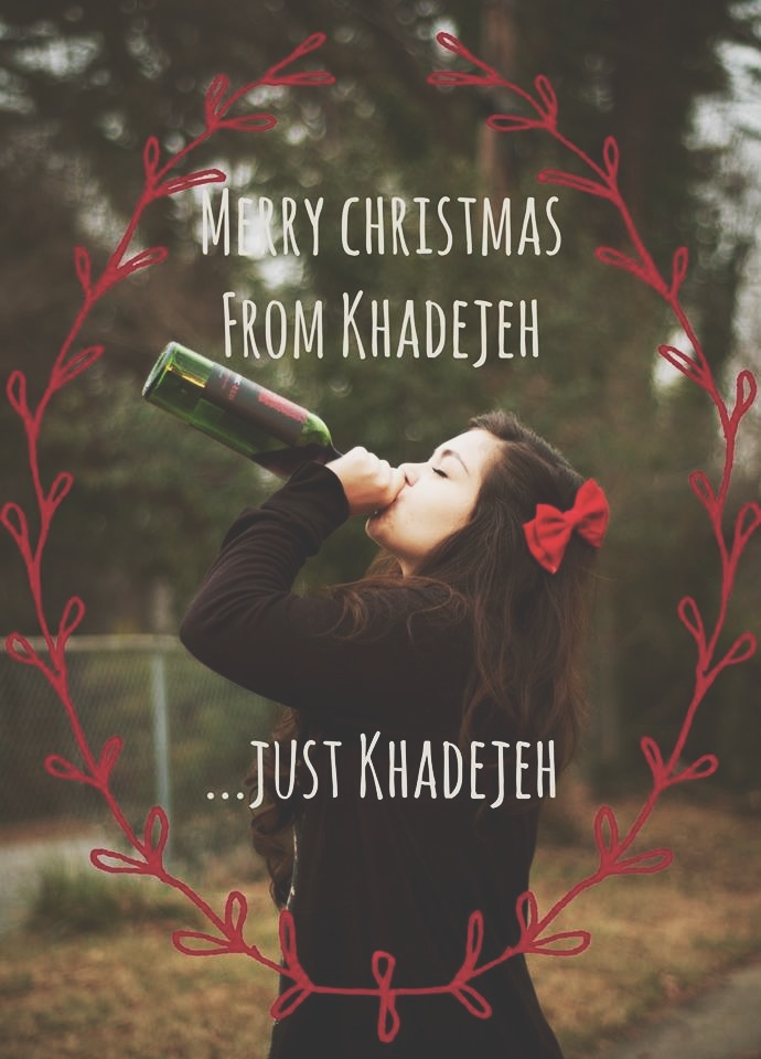 single girl christmas card ideas google search