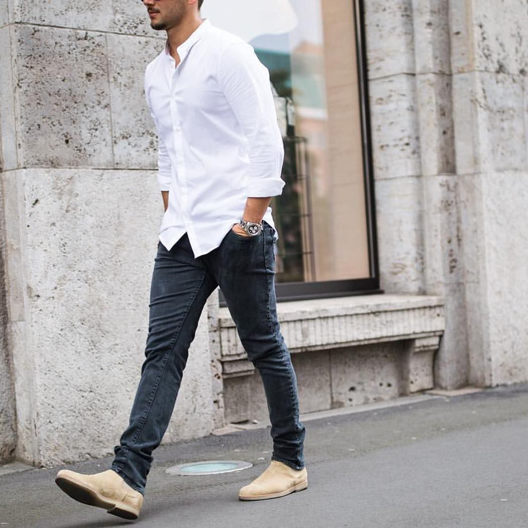 Men's Fashion Instagram Page | Sandro, White shirts and Man style